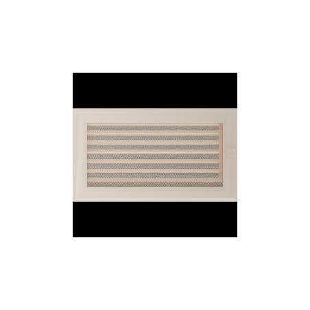 Kratka Oskar kremowa z żaluzją 17x30