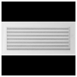 Kratka Oskar biała z żaluzją 17x37
