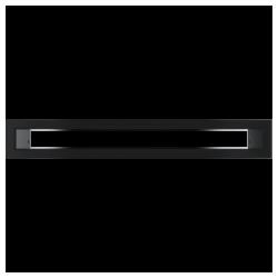 TUNEL czarny 6x40