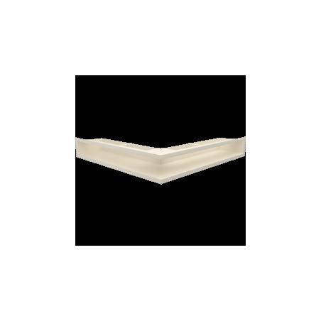 LUFT narożny kremowy 56x56x9