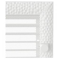Kratka Venus biała z żaluzją 17x17