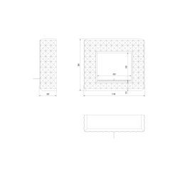 EGZUL biały z kryształami Swarovski połysk z certyfikatem TÜV