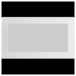 Kratka biała 17x30