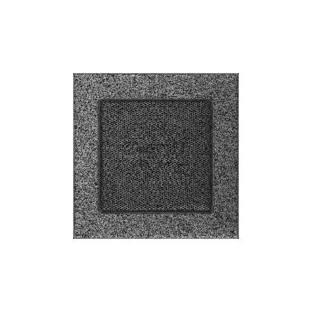 Kratka czarno-srebrna 17x17