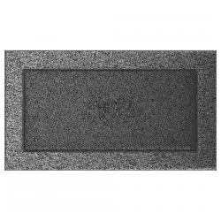 Kratka czarno-srebrna 17x30