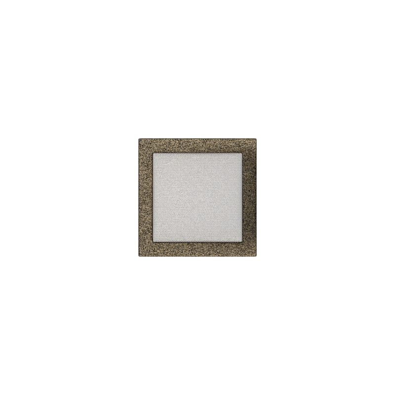 Kratka czarno-złota 22x22