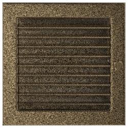Kratka czarno-złota z żaluzją 22x22