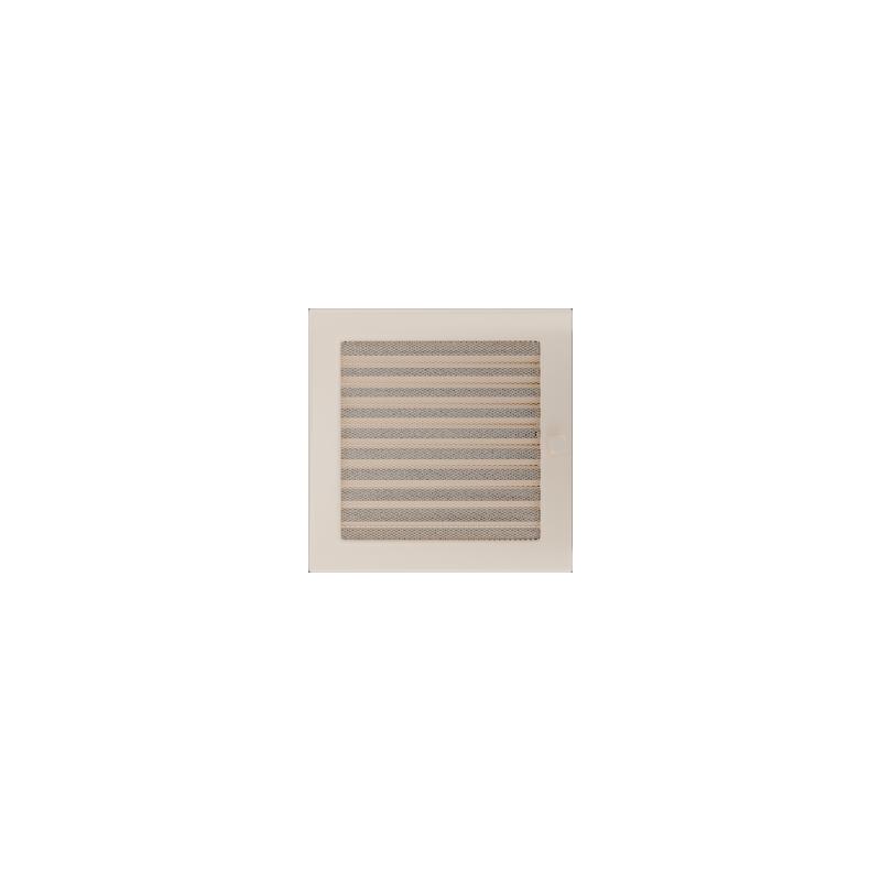 Kratka kremowa z żaluzją 22x22