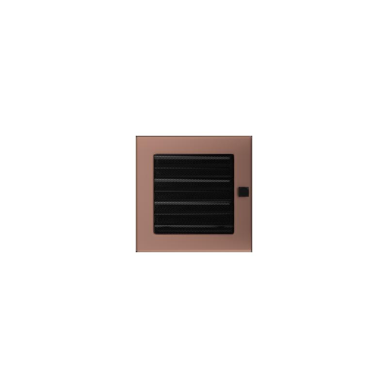 Kratka miedź galwaniczna z żaluzją 17x17