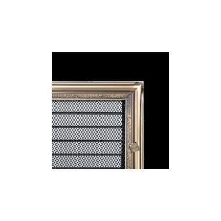 Kratka Rustykalna z żaluzją 17x37
