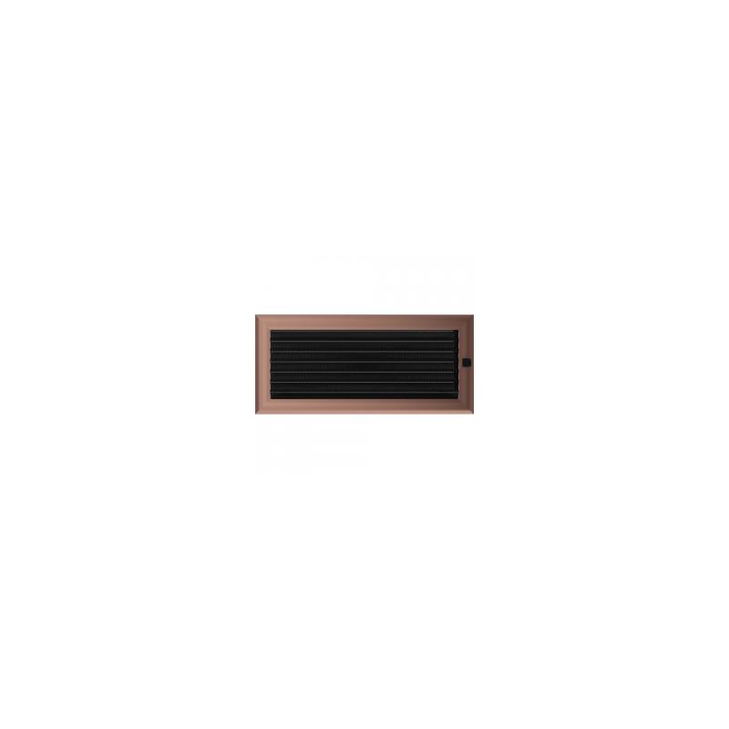 Kratka Oskar miedziana z żaluzją 17x37