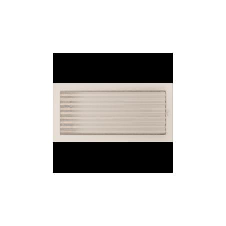 Kratka kremowa z żaluzją 22x45