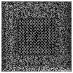 Kratka Oskar czarno-srebrna 11x11